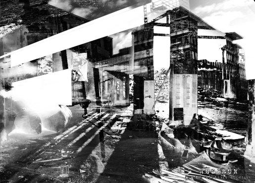 Verschiedene Gebäudefragmente