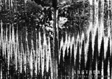 verbrannte Strukturen auf Holz