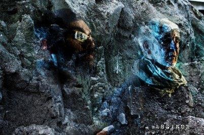 Mensch wird Stein